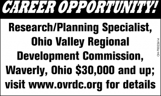 Research/Planning Specialist
