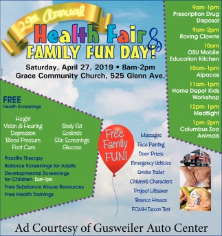 Health Fair & Family Fun Day