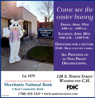Come see easter bunny