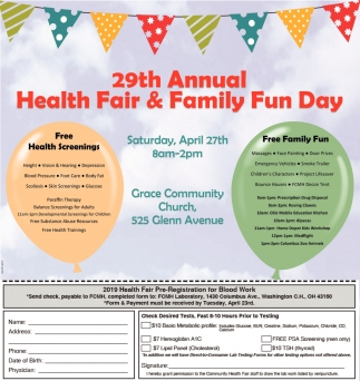 29th Annual Health Fair & Family Fun Day