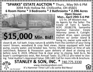 Sparks Estate Auctions