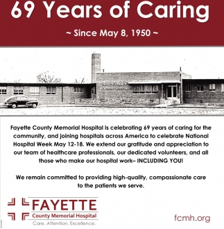 69 Years of Caring