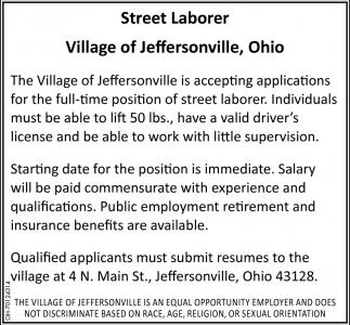 Street Laborer