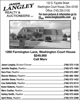 120 Farmington Lane, Washington Court House