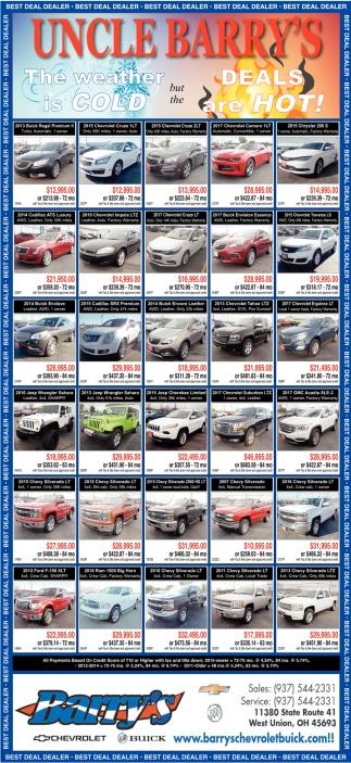 Deal Dealer Barrys Chevrolet Buick - Buick auto dealers