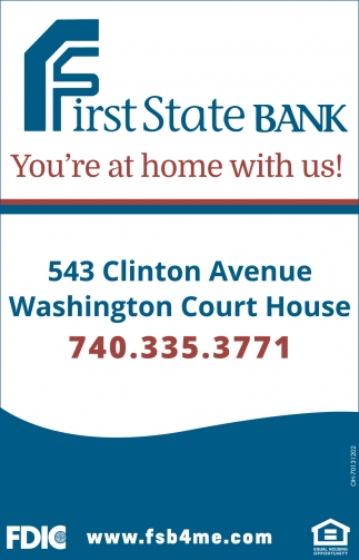 You're at home with us!