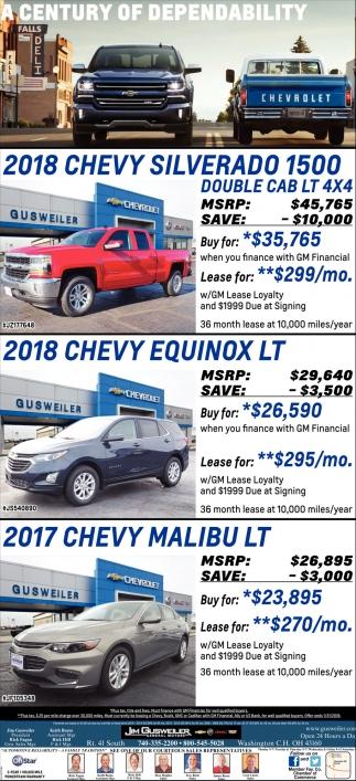 2018 Chevy