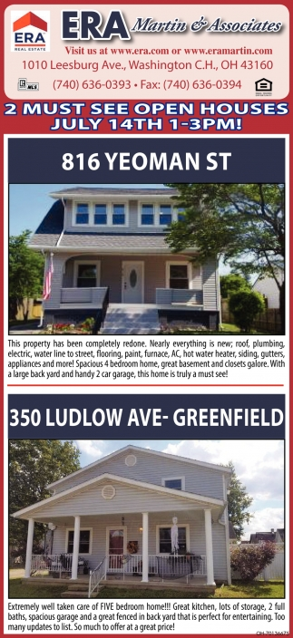 816 Yeoman St | 350 Ludlow Ave, Greenfield
