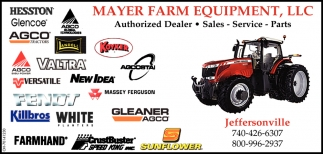 Authorized Dealer ~ Dealer ~ Service ~ Parts
