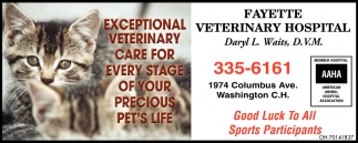 Exceptional Veterinary Care for Every Satge of your Precious Pet's Life
