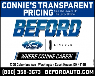 Connie's Transparent Pricing