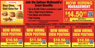 Join the Epifano Mcdonalds!