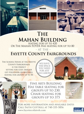 At The Fayette County Fairgrounds
