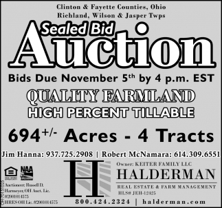 Auction - November 5th