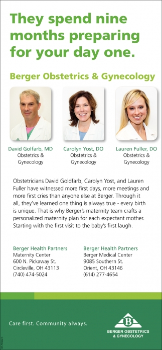 Berger Obstetrics & Gynecology