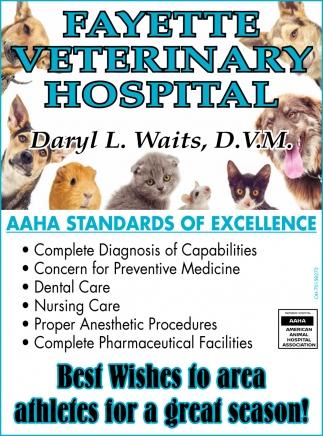 Daryl L. Waits, D.V.M.