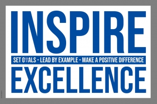 Set Goals ~ Lead by Example ~ Make A Positive Difference