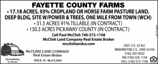 Fayette Country Farms