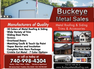Manufacturers of Quality
