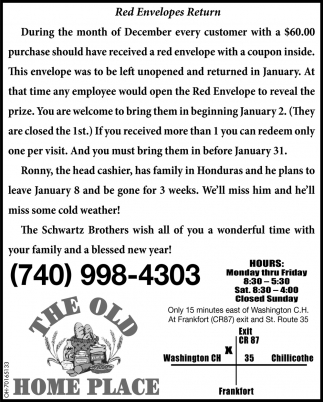 Red Envelopers Return