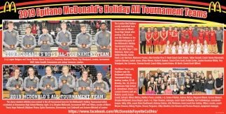 2019 Epifano McDonald's Holiday All Tournament Teams