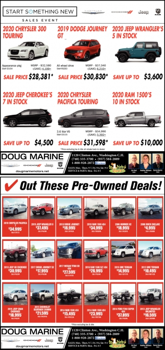 Out These Pre-Owned Deals!