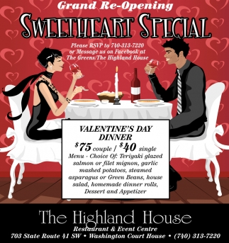 Grand Re-Opening - Sweetheart Special