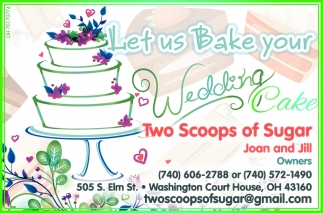 Let us Bake your Wedding Cake