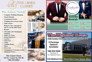 Full Service Wedding and Recpetion