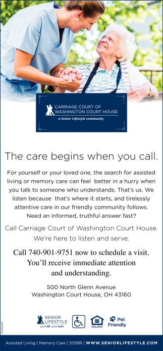 The care begins when you call