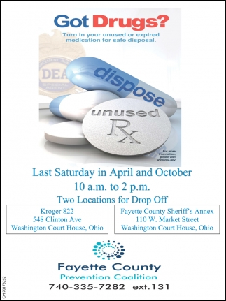 Got Drugs? Turn in your unused or expired medication for safe disposal