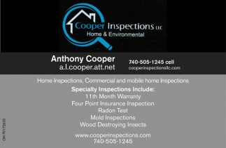 Home Inspections, Commercial and mobile home Inspections