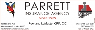 Rowland LeMaster CPIA, CIC