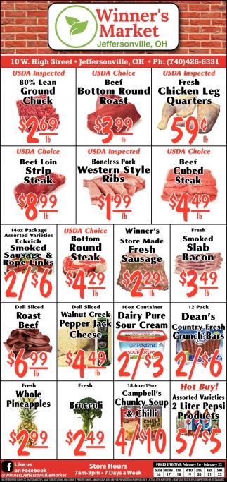Winner's Giant 10lb. Meat Sale