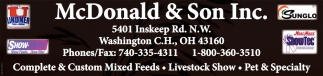 Complete & Custom Mixed Feeds