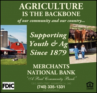 Agriculture Is The Backbone
