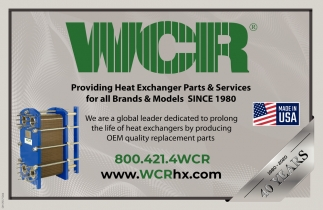 Providing Heat Exchanger Parts & Services for all Brands & Models Since 1980