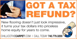Got a tax refund?