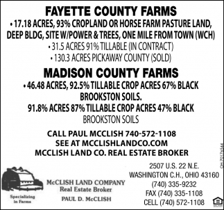 Fayette Country Farms | Madison County Farms