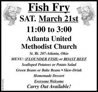 Fish Fry - March 21st