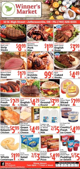 Winner's Meat Sale