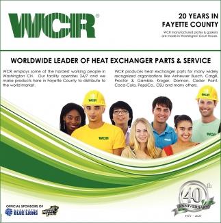Worldwide Leader Of Heat Exchanger Parts & Service