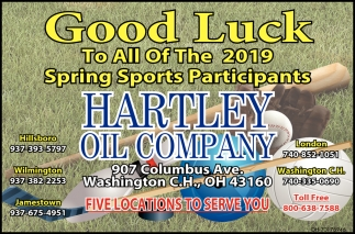 Good Luck To9 All Of The 2019 Spring Sports Participants