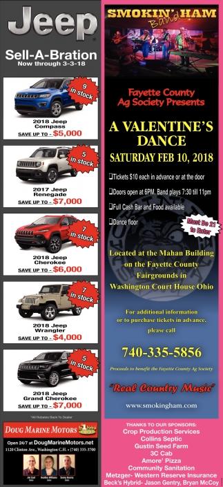 Jeep Dealers Cleveland >> Jeep Sell-A-Bration, Doug Marine Motors