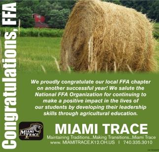 Congratulations, FFA