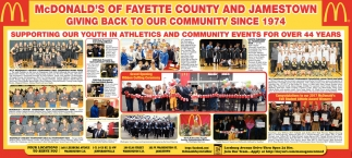 Supporting our youth in athletics and community events for over 44 years