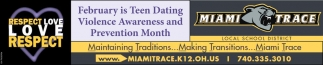 Teen Dating Violence Awareness and Prevention Month
