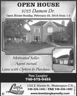 1015 Damon Dr.