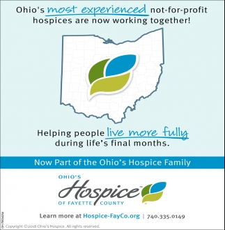 Now Part of the Ohio's Hospice Family