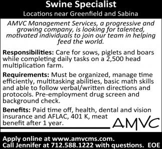 Swine Specialist